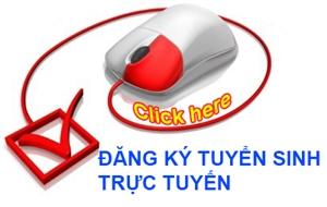 Đăng kí trực tuyến thông tin tuyển sinh năm 2020