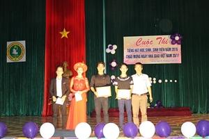 Cuộc thi tiếng hát học sinh sinh viên năm 2016 chào mừng ngày Nhà giáo Việt nam 20/11/2016