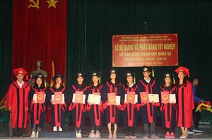 Lễ bế giảng và phát bằng Cao đẳng khóa 55