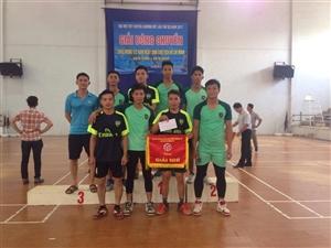 Đội tuyển bóng chuyền nam trường cao đẳng nông nghiệp và phát triển nông thôn Bắc Bộ giành giải nhì tại giải bóng chuyền cháo mừng 127 năm ngày sinh Chủ tịch Hồ Chí Minh 19/5/1890 - 19/5/2017