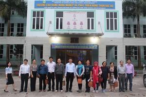 Trường Cao đẳng Nông nghiệp và PTNT Bắc Bộ tiếp đoàn cán bộ cấp cao của mạng lưới phát triển nguồn nhân lực nông thôn Châu Á (ASIADHRRA)