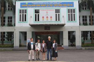 Tiếp đoàn cán bộ Đài Loan của Công ty cổ phần MCORP