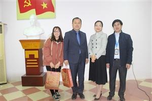 Trường Cao đẳng Nông nghiệp và Phát triển tiếp đoàn cán bộ Đại học Uiduk - Hàn Quốc