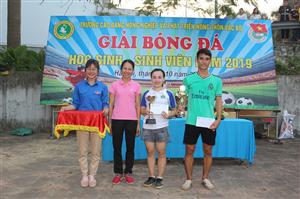 Giải bóng đá học sinh, sinh viên năm 2019
