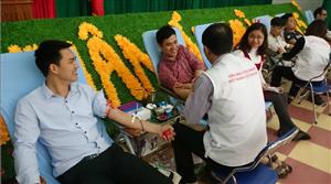 Ngày hội  hiến máu nhân đạo năm 2015
