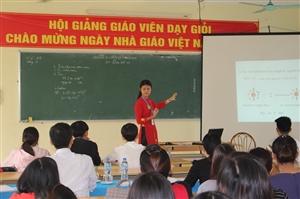 Hội giảng chào mừng ngày Nhà giáo Việt Nam 20/11/2017