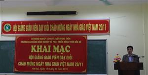 Hội giảng chào mừng ngày Nhà giáo Việt Nam 20/11/2018