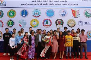 Trường Cao đẳng Nông Nghiệp và PTNT Bắc Bộ với Hội giảng nhà giáo Giáo dục nghề nghiệp Bộ Nông nghiệp và PTNT năm 2020