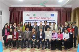 Hội thảo đào tạo Phương pháp lập kế hoạch kinh doanh, tham vấn và định hướng phát triển thị trường của các tổ hợp tác/hợp tác sản xuất nông nghiệp hữu cơ trong mạng lưới VietDHRRA.