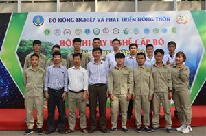 Học sinh, sinh viên Trường Cao đẳng Nông nghiệp và PTNT Bắc Bộ với Hội thi tay nghề cấp bộ lần thứ IX - Năm 2020