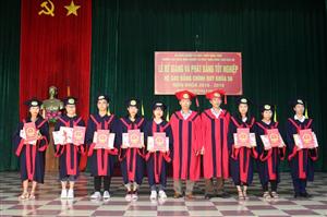 Lễ bế giảng và phát bằng tốt nghiệp hệ Cao đẳng chính quy khóa 56 niên khóa 2016 - 2019