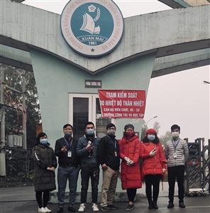 Trường Cao đẳng Nông nghiệp và PTNT Bắc Bộ với hành động phòng, chống dịch virus Corona