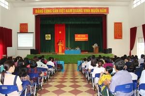 Hội nghị cán bộ viên chức và người lao động năm 2016