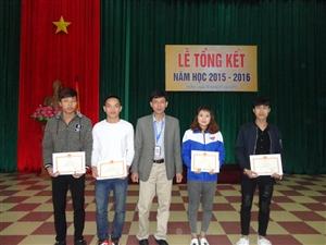 Lễ tổng kết năm học 2015 - 2016
