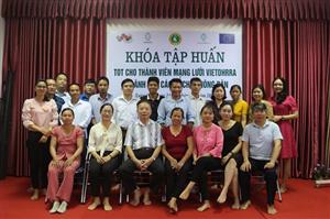 Khóa tập huấn TOT cho thành viên mạng lưới VIETDHRRA và lãnh đạo các tổ chức nông dân