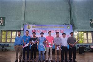 Hội thi nam công trổ tài chào mừng ngày Phụ nữ Việt Nam 20/10/2018