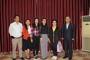 Trường Cao đẳng Nông nghiệp & Phát triển Nông thôn Bắc Bộ tiếp đoàn cán bộ Trường Đại học UIDUK