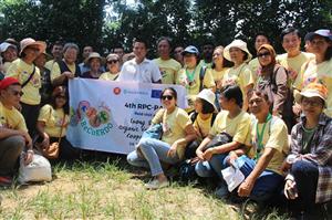Trường Cao đẳng Nông nghiệp và PTNT Bắc Bộ tiếp đoàn cán bộ mạng lưới hợp tác phát triển nguồn nhân lực nông thôn Châu Á - ASIADHRRA