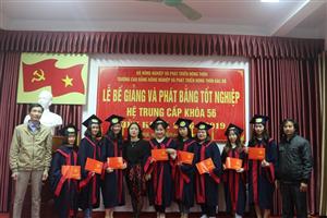 Lễ bế giảng và phát bằng tốt nghiệp hệ Trung cấp khóa 56 niên khóa 2016 - 2019