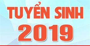 Thông tin tuyển sinh hệ Cao đẳng - Trung cấp năm 2019