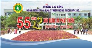 Kỷ niệm 55 năm thành lập trường